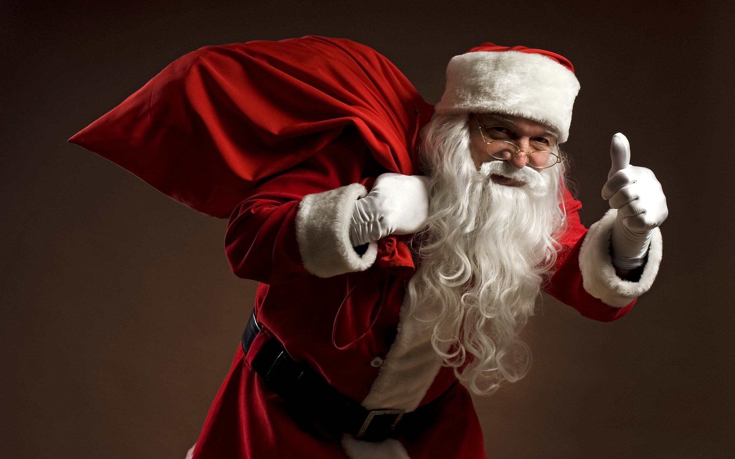 Image result for santa's red sack