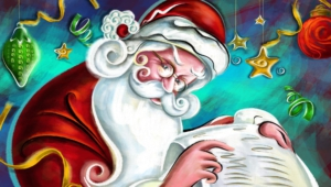 Santa Claus HD Wallpaper