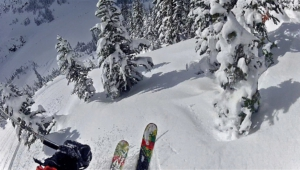 Skiing Computer Wallpaper