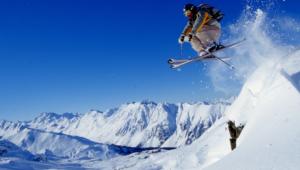 Skiing Hd Background