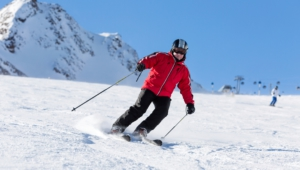 Skiing Widescreen
