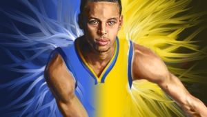 Stephen Curry HD Background
