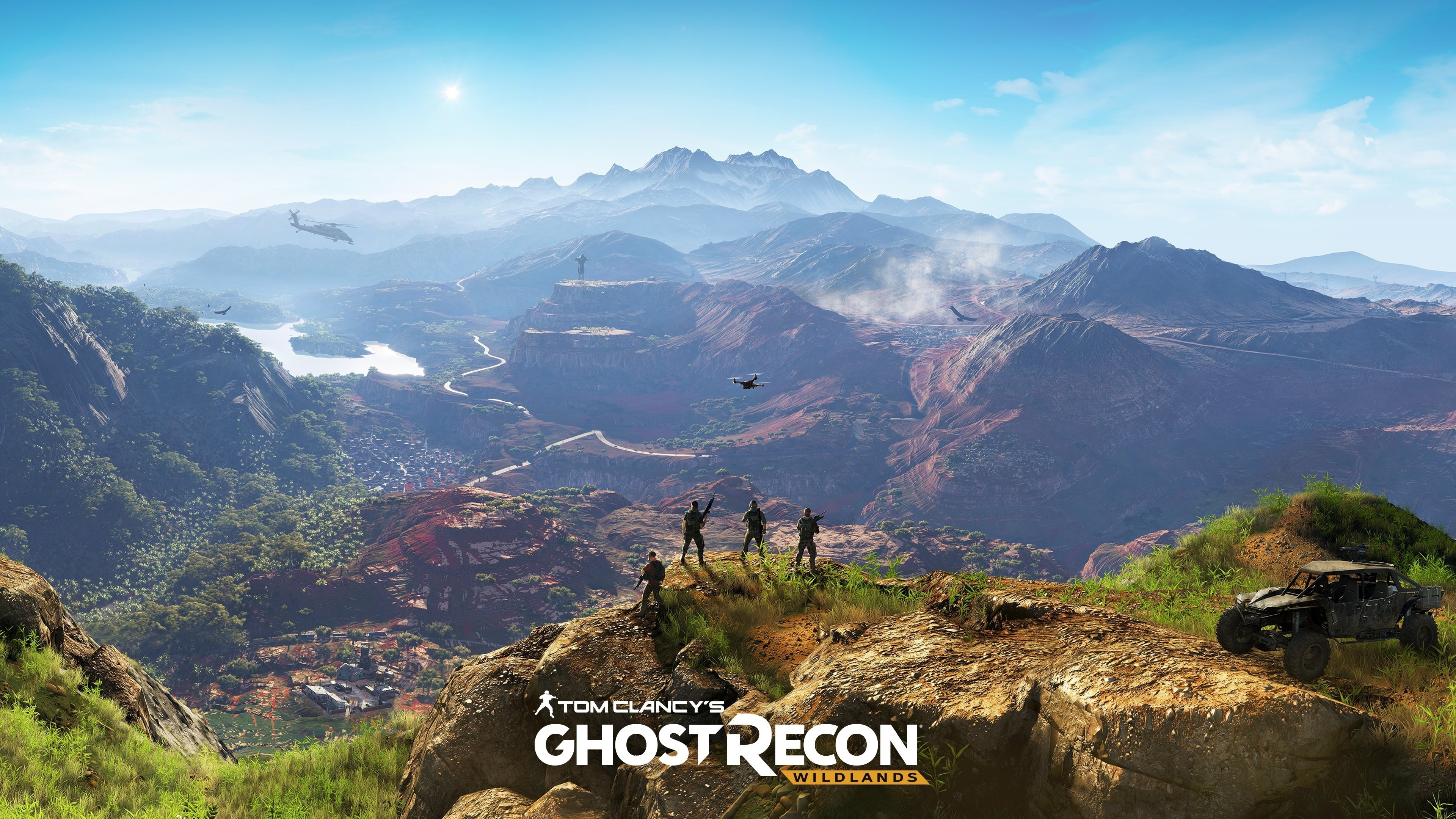 Tom Clancys Ghost Recon Wildlands Widescreen