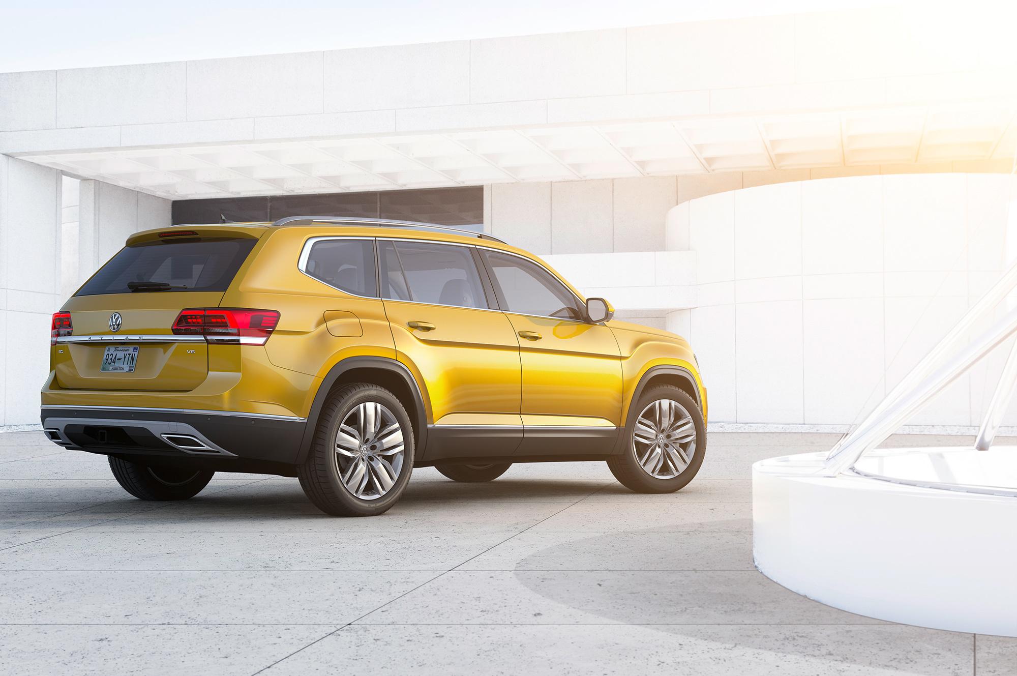 Volkswagen Atlas Pictures