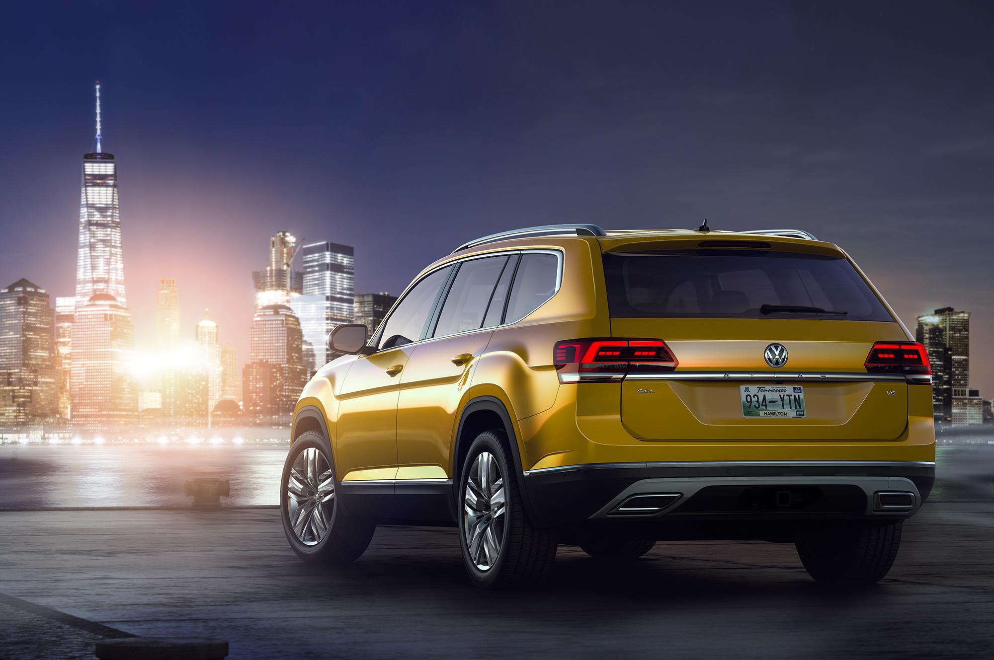 Volkswagen Atlas Widescreen