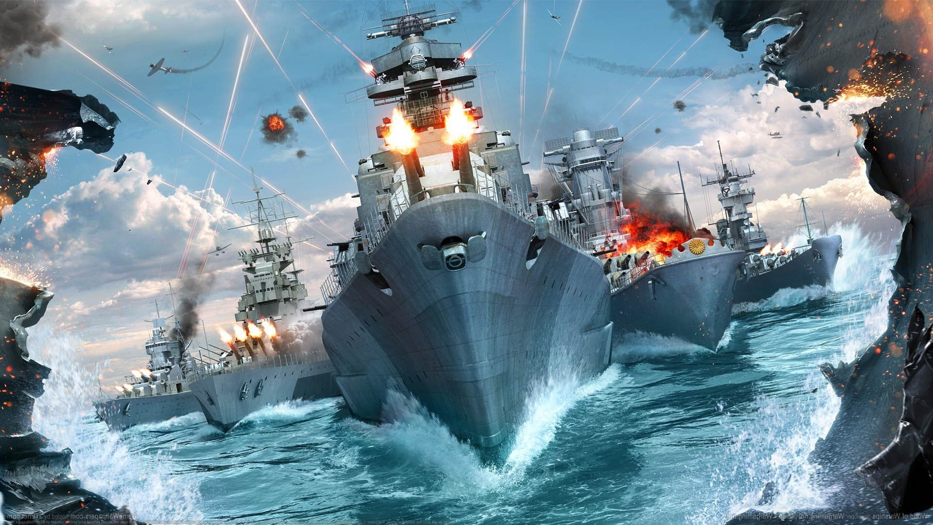 World Of Warships Widescreen