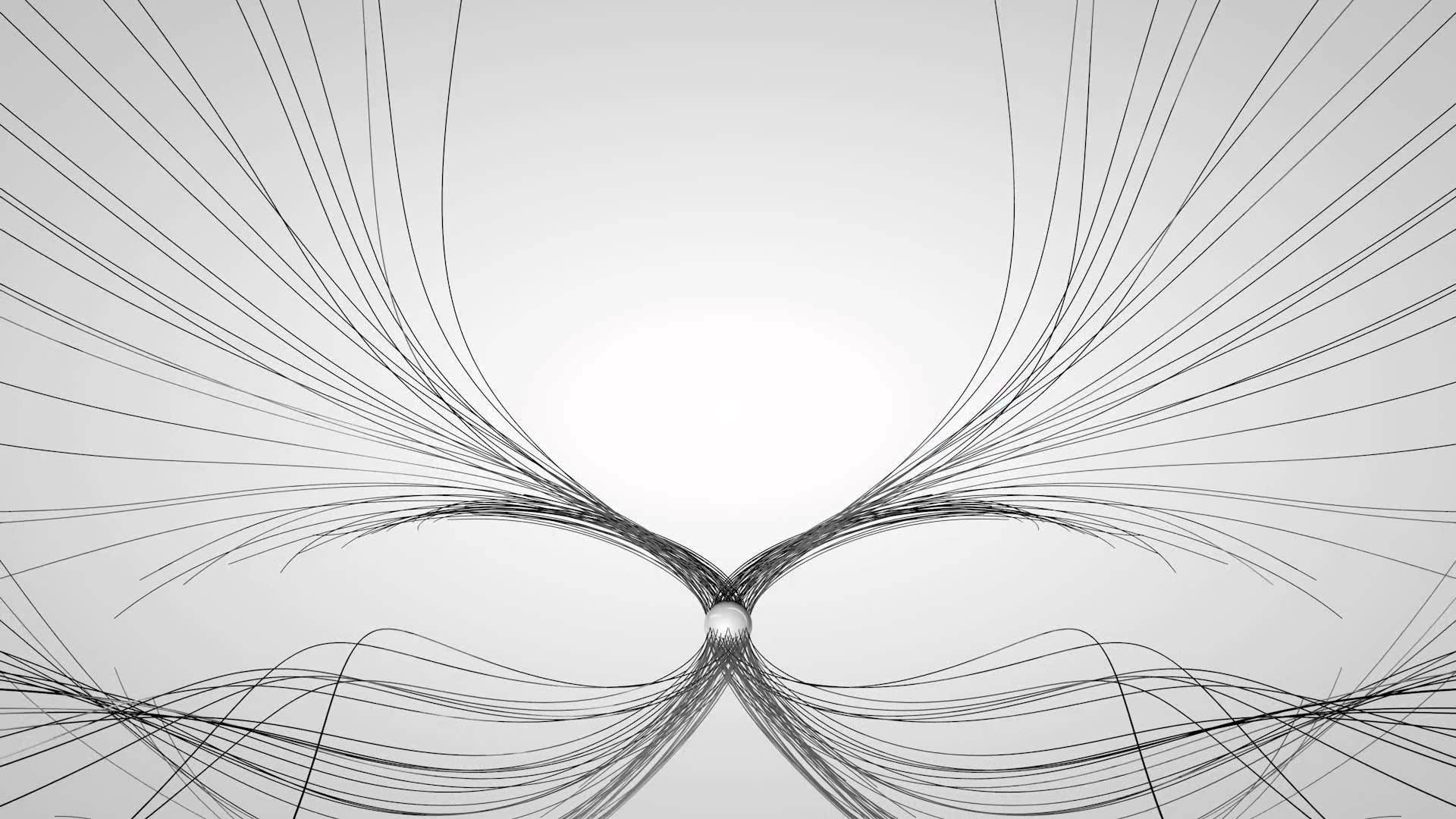 Abstract Lines For Desktop