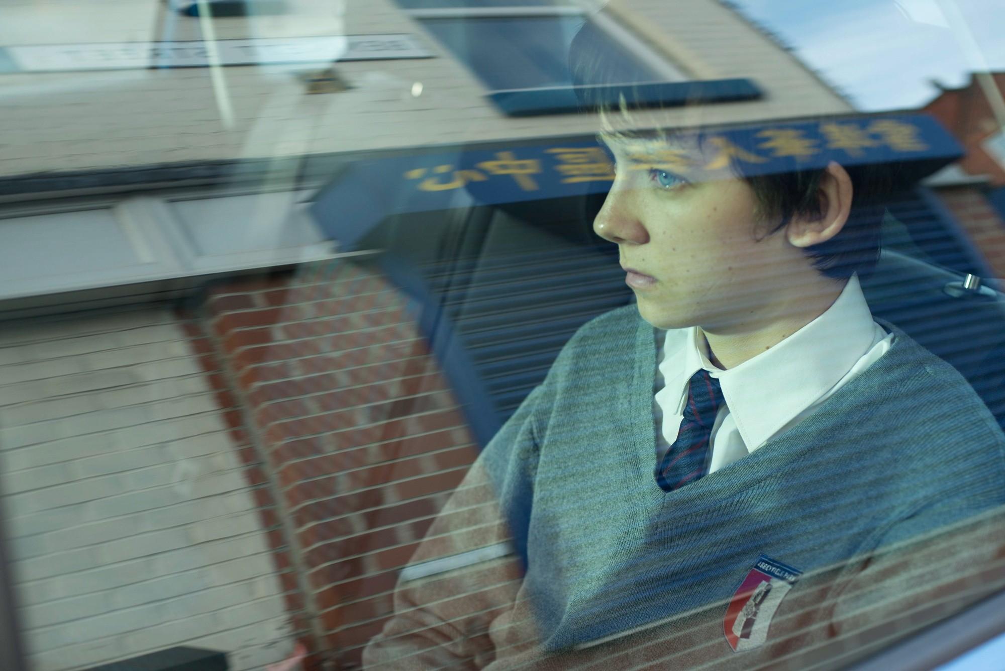 Asa Butterfield For Desktop Background