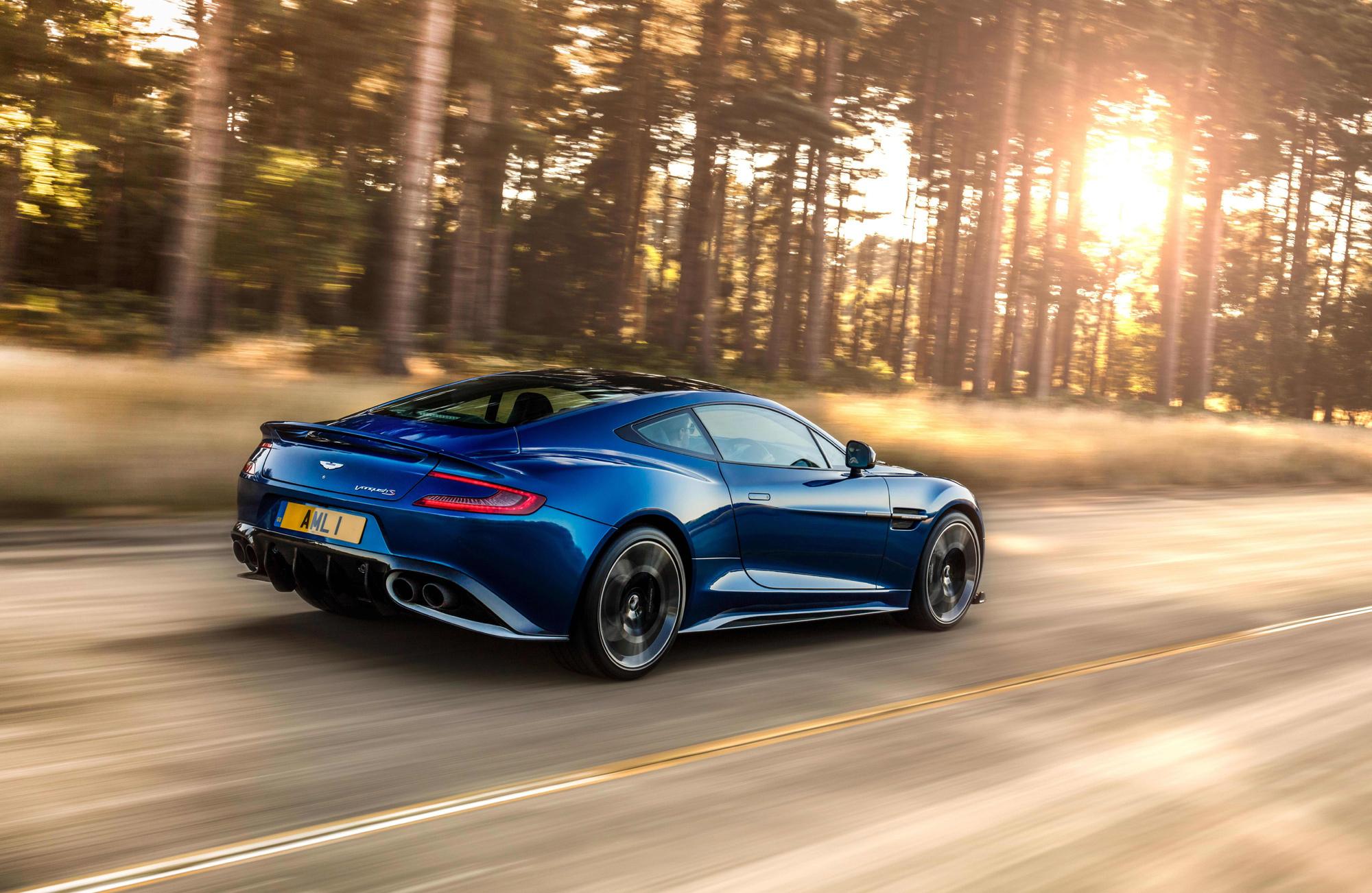 Aston Martin Vanquish S Pictures