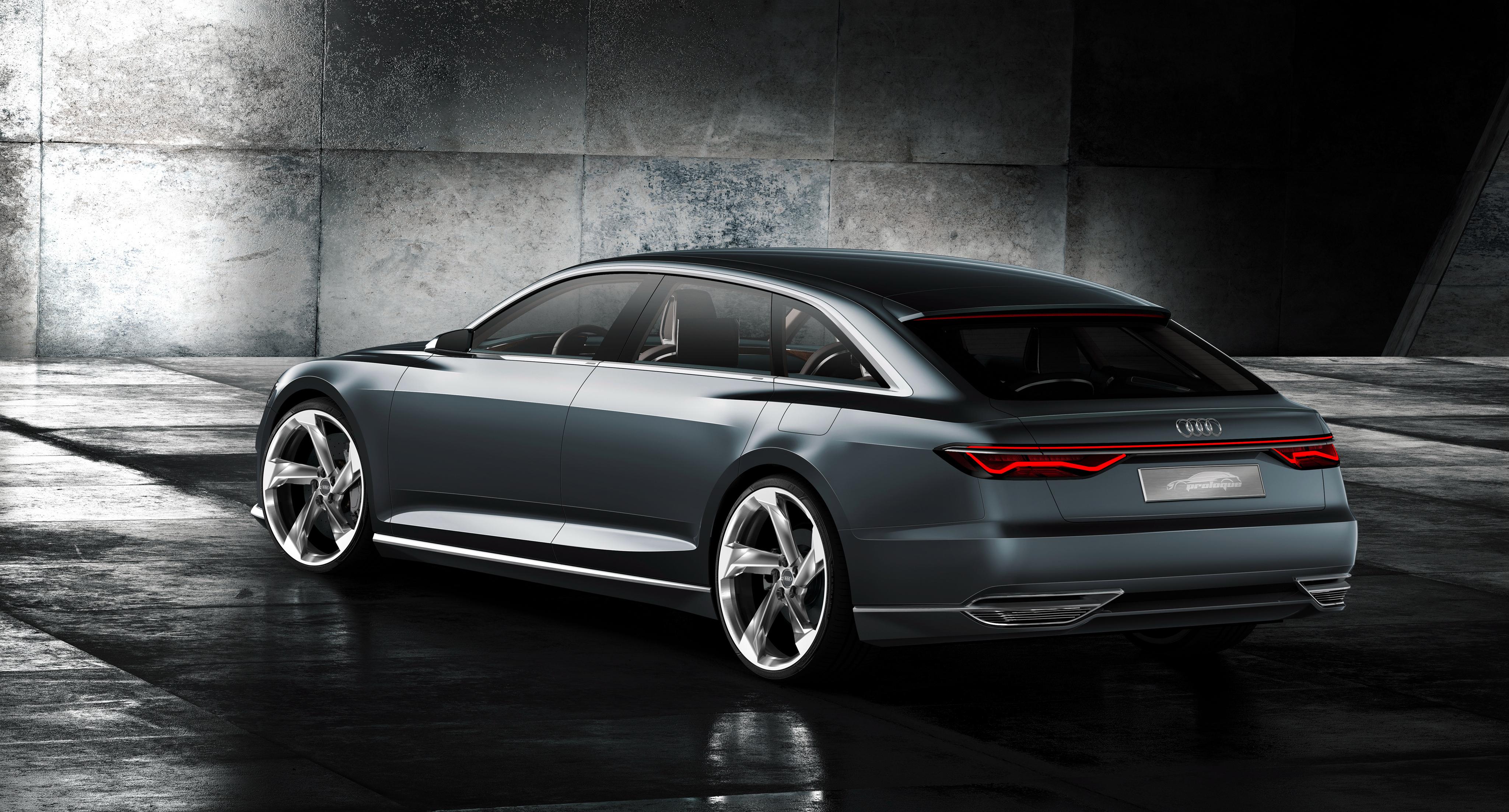 Audi Prologue Avant Pictures