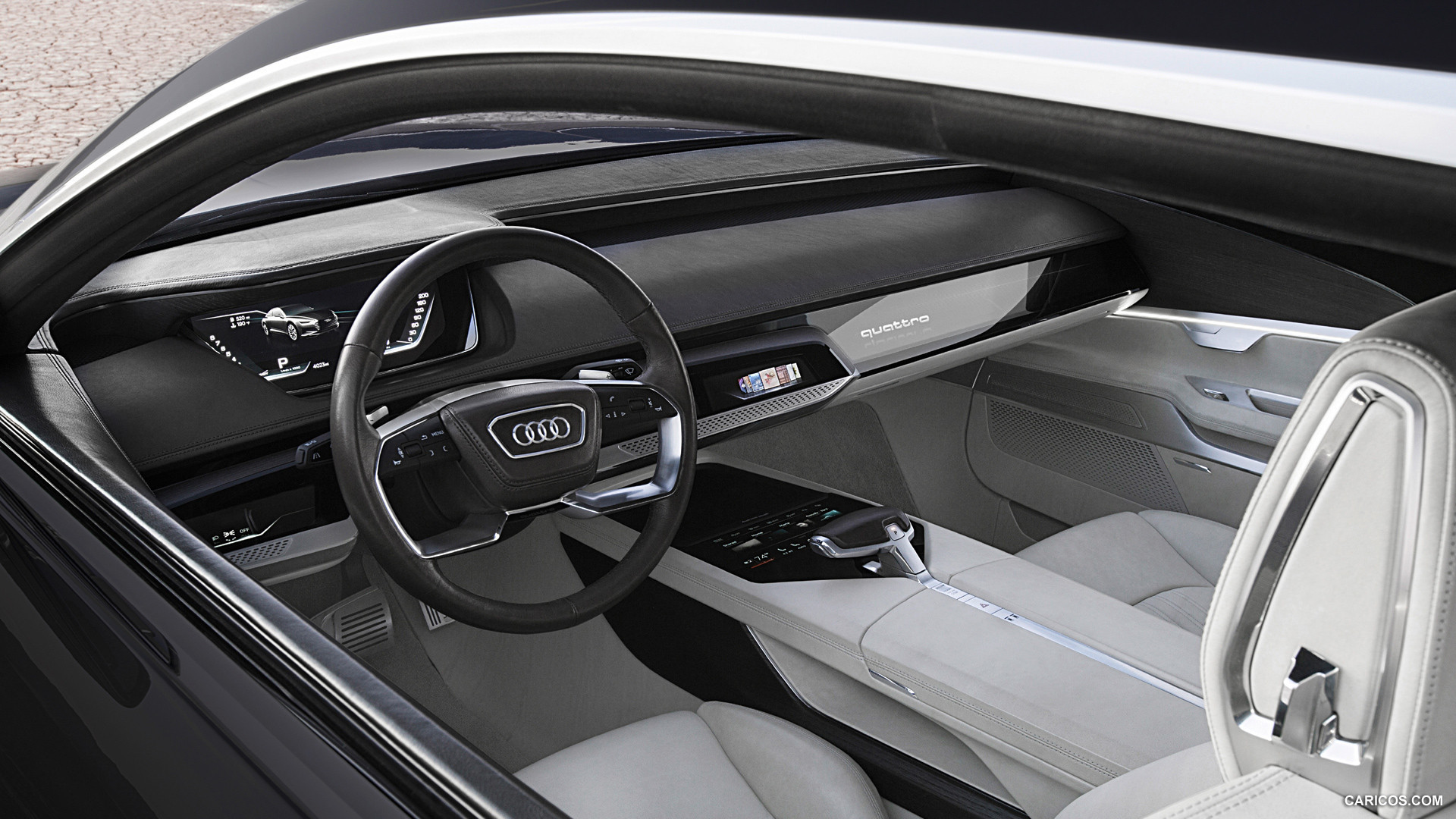 Audi Prologue Piloted Driving High Definition Wallpapers