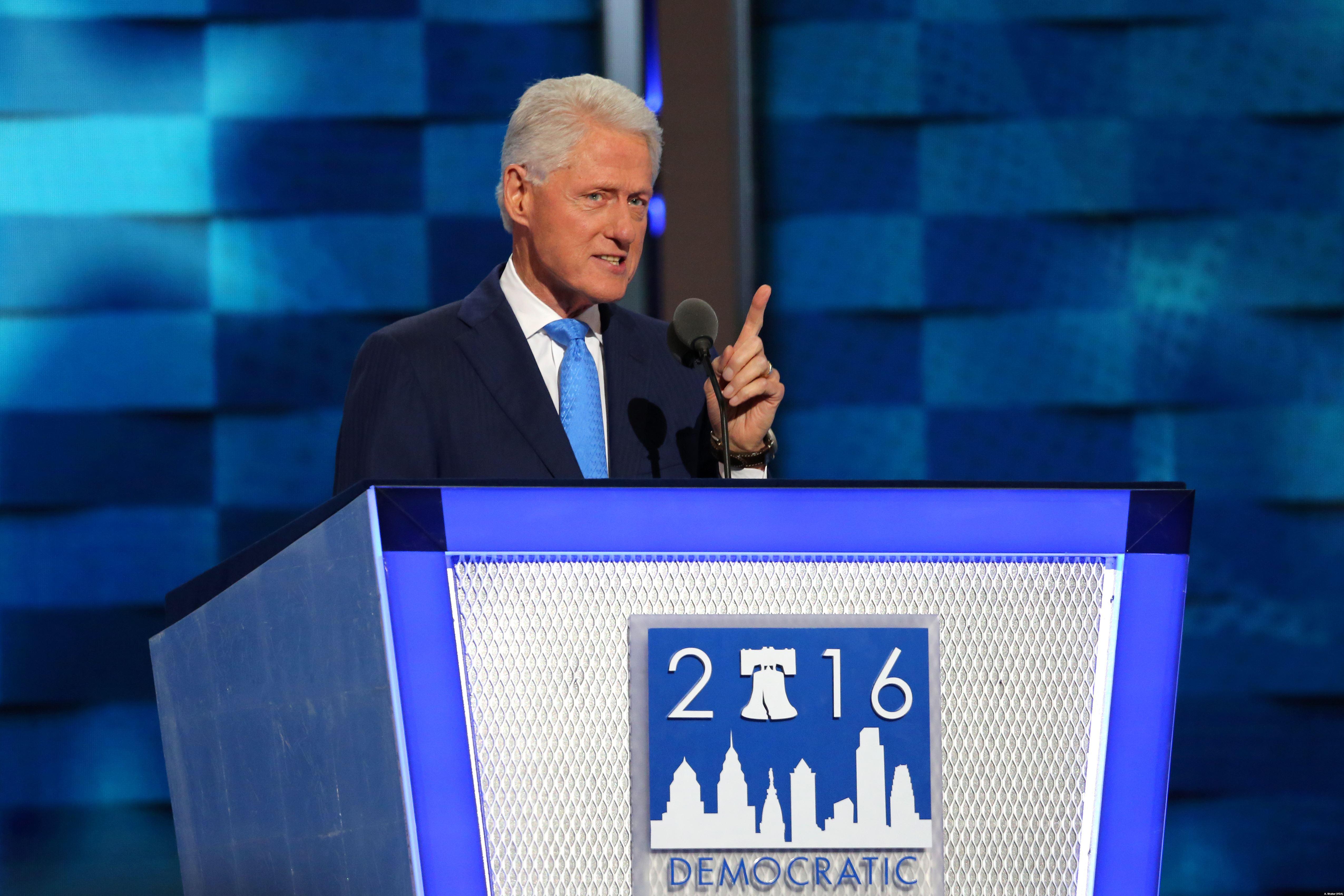 Bill Clinton Desktop