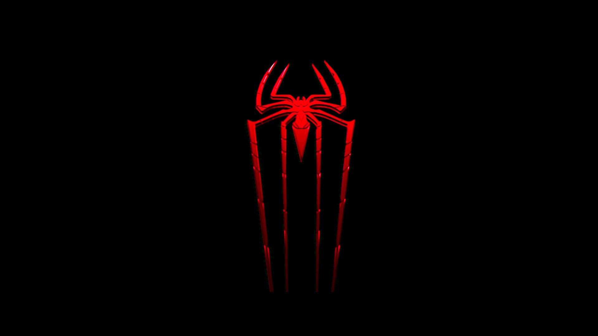 Black Spider Man Logo
