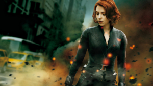 Black Widow Hd Background