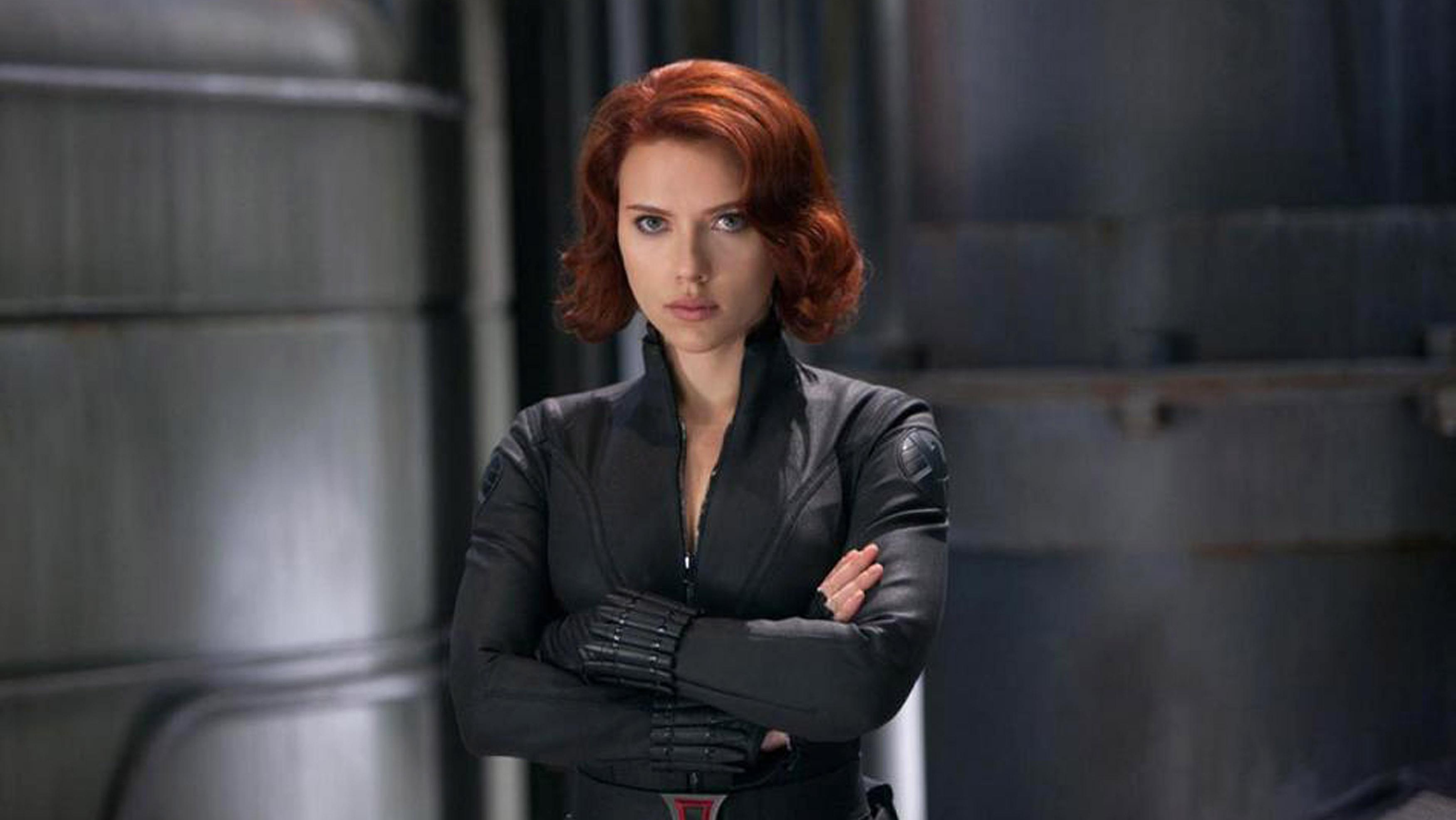 Black Widow Hd Desktop