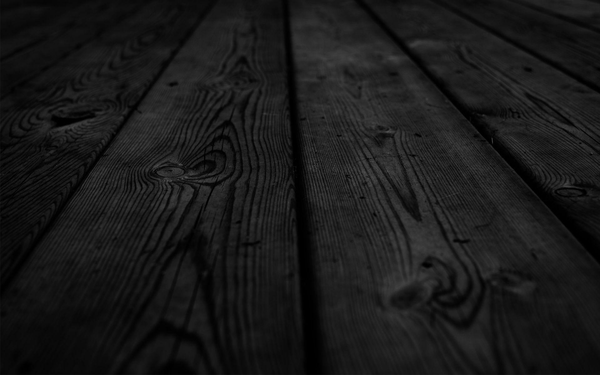 Black Wood Hd Wallpaper