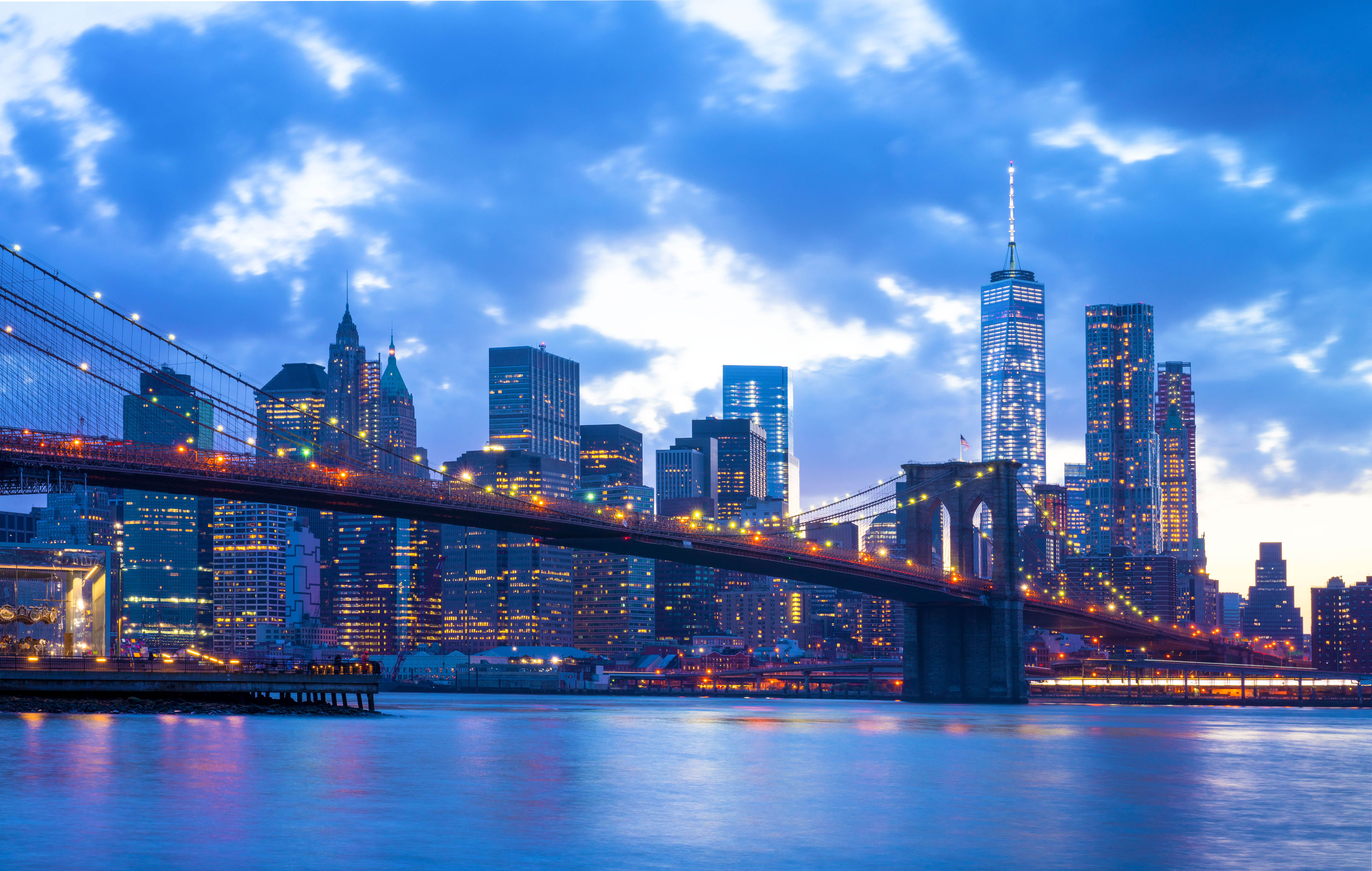 Brooklyn Bridge Background