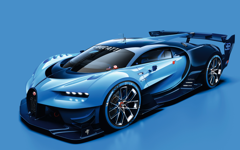 Bugatti Vision Gran Turismo Wallpapers