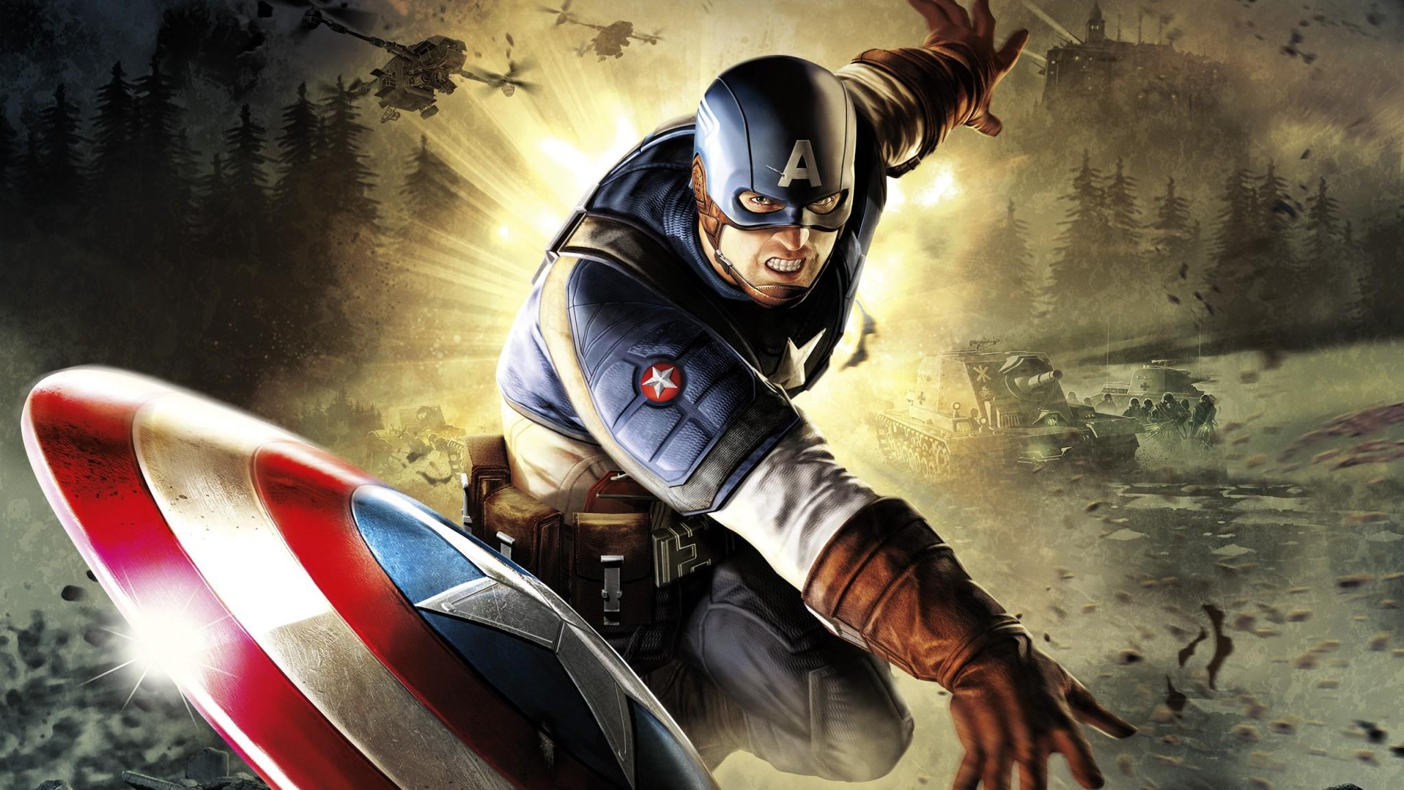 Captain America Desktop Images