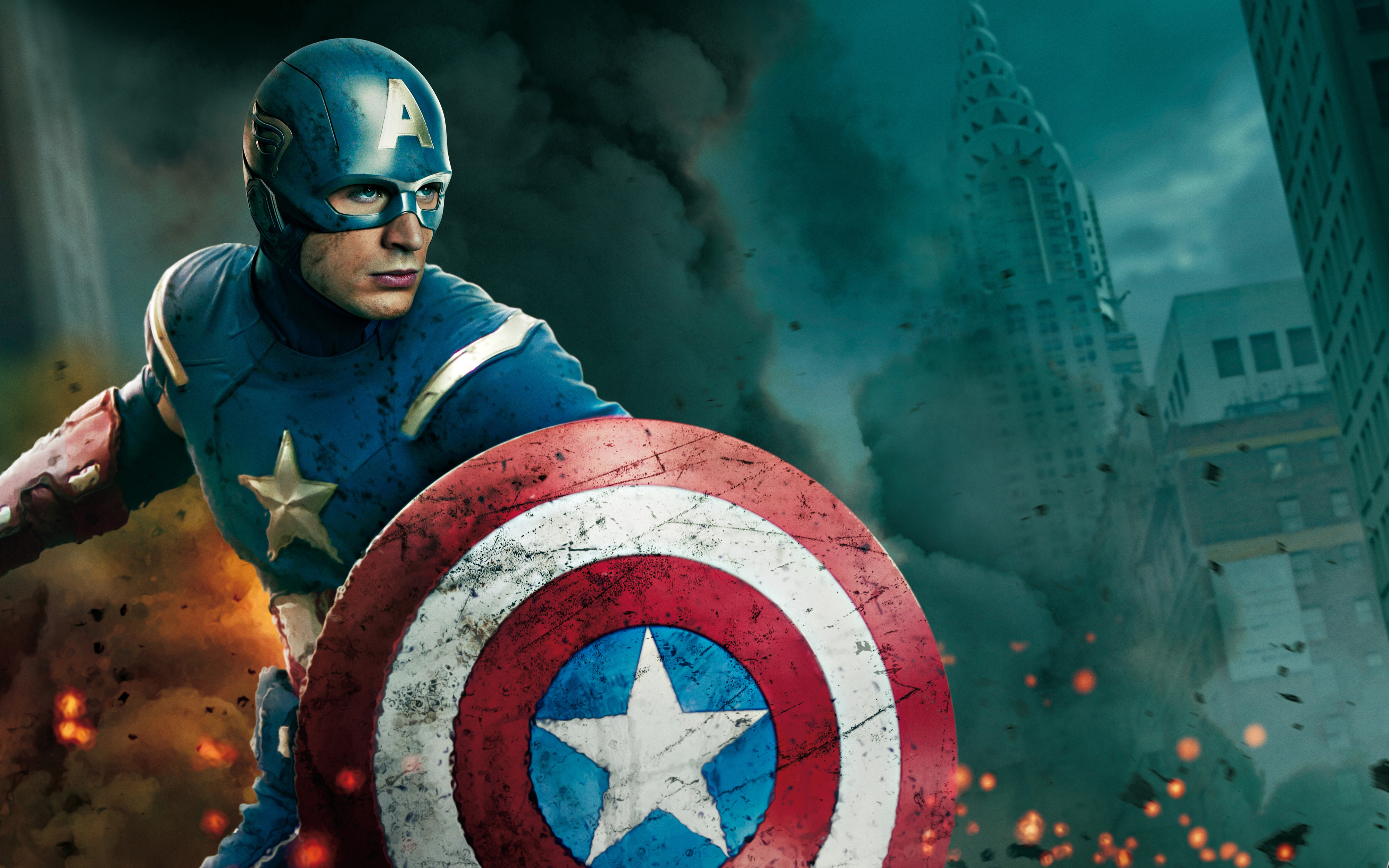 Captain America Hd Desktop