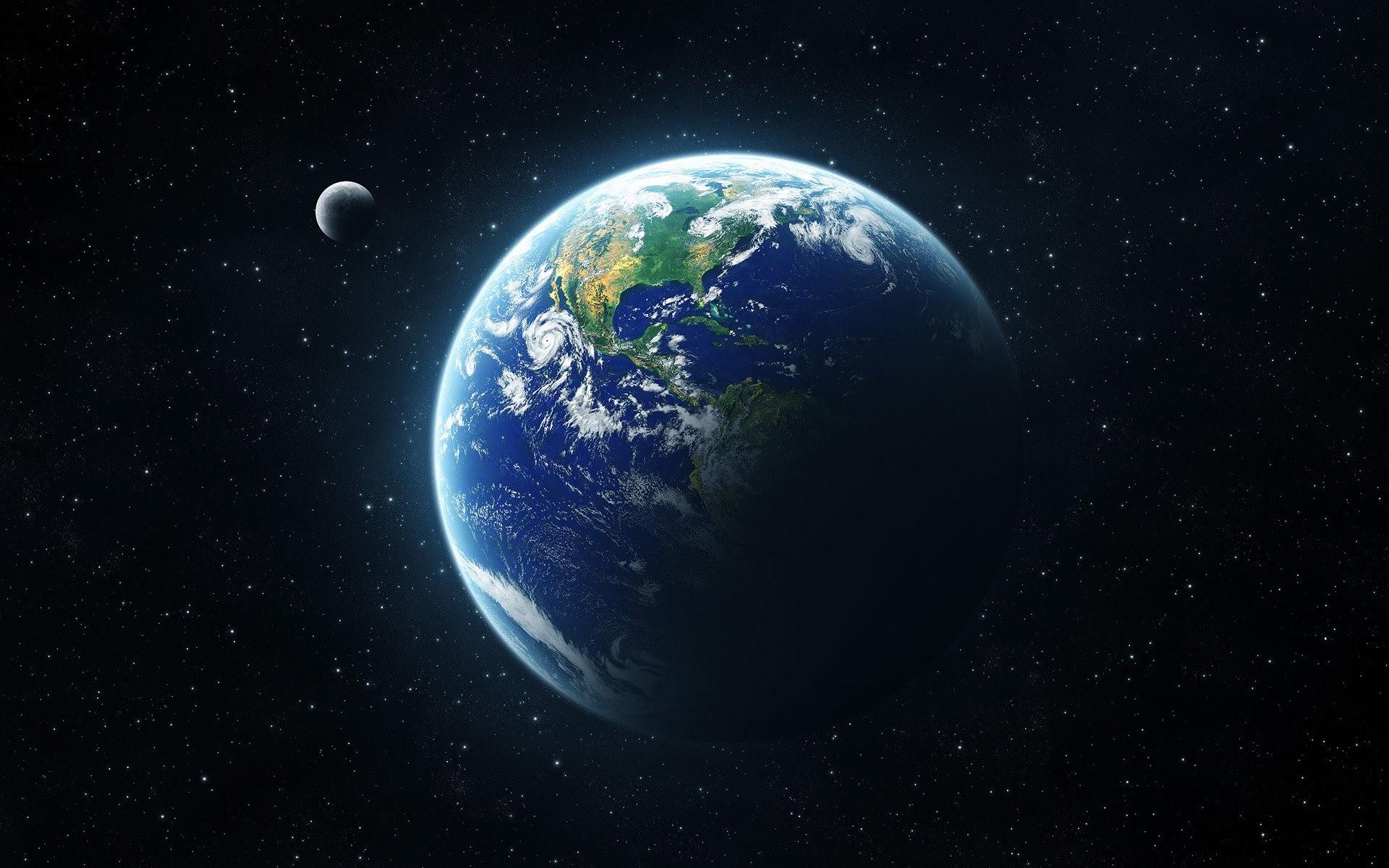 Earth Computer Wallpaper