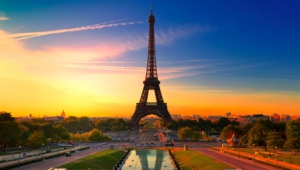 Eiffel Tower Hd Background