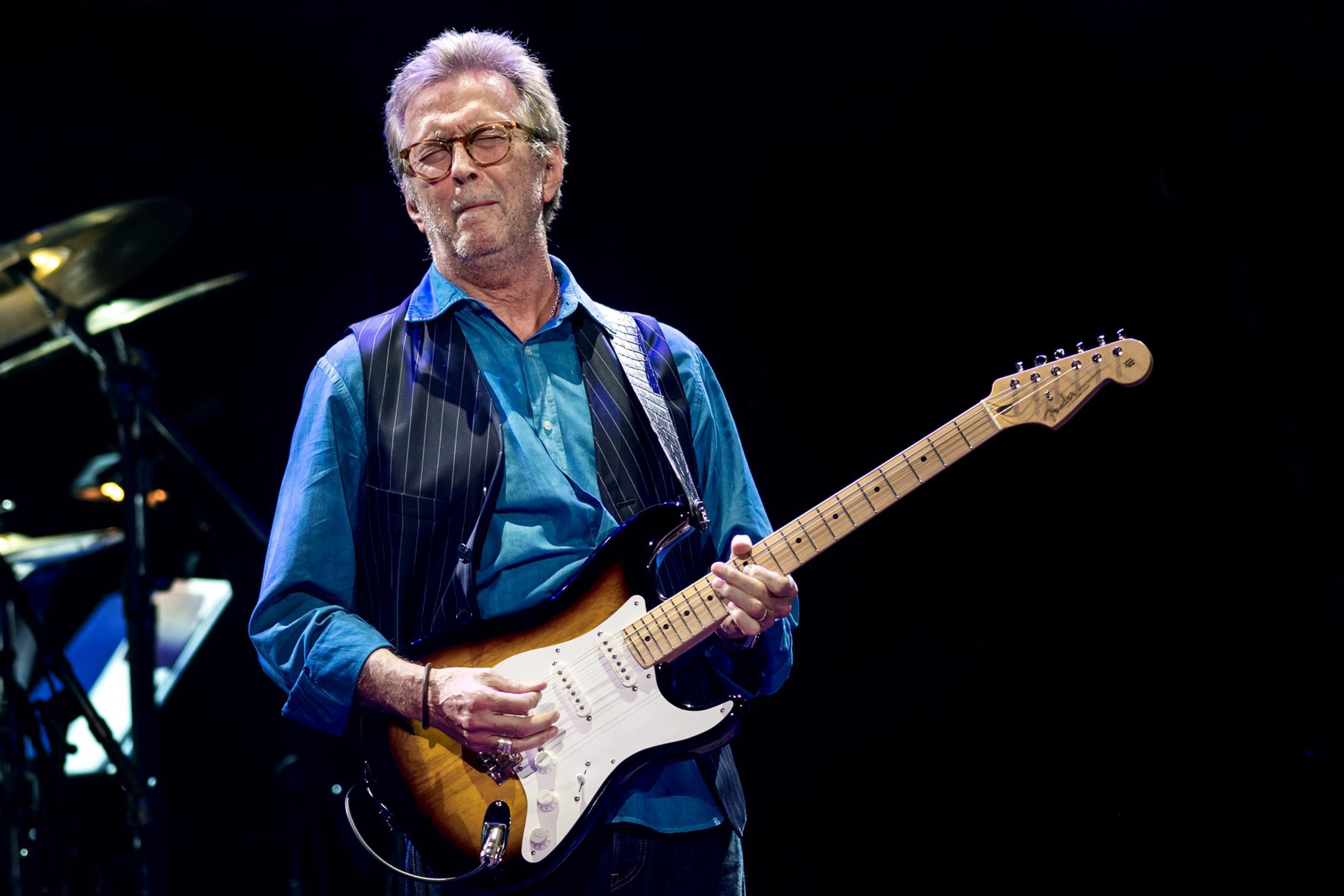 Eric Clapton Background