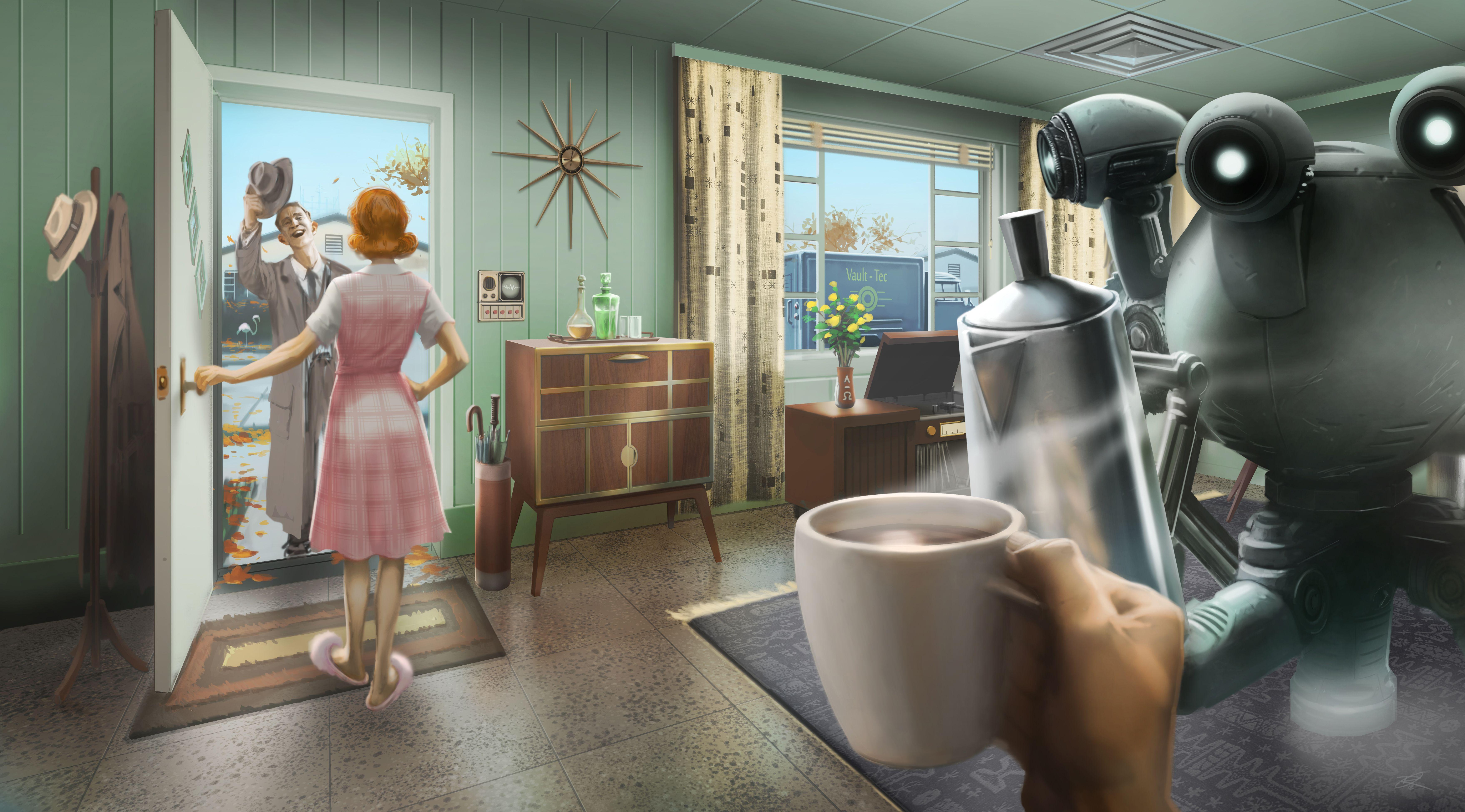 Fallout 4 Computer Wallpaper