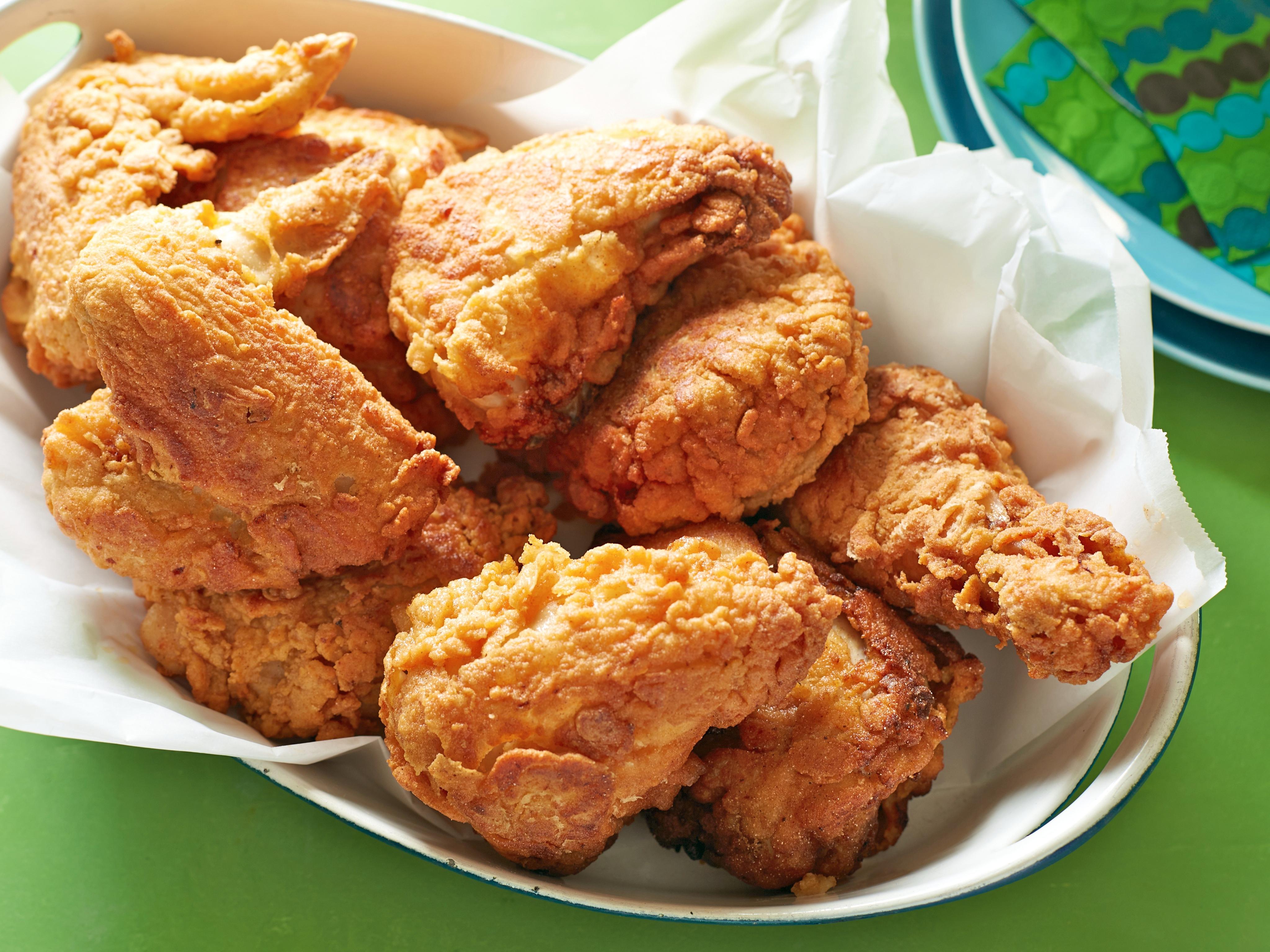 Fried Chicken Background