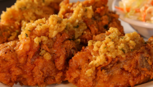 Fried Chicken Hd Wallpaper