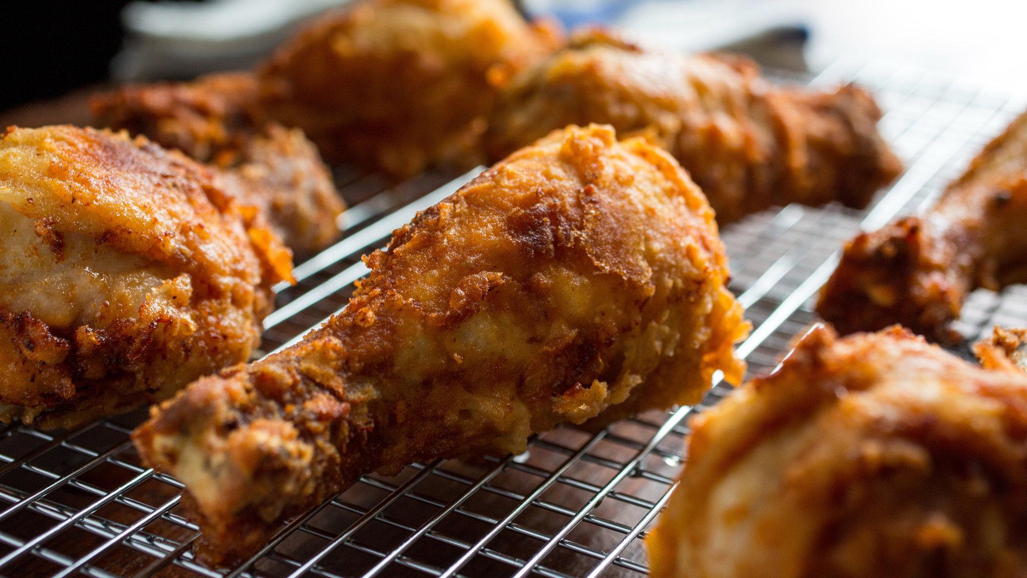 Fried Chicken Widescreen