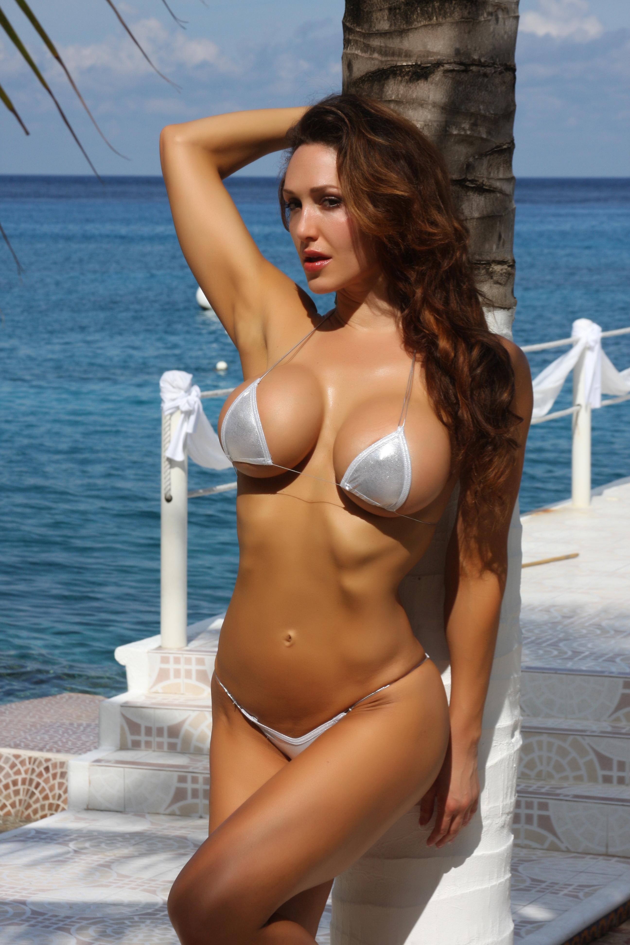 sexiest bikini models slutty