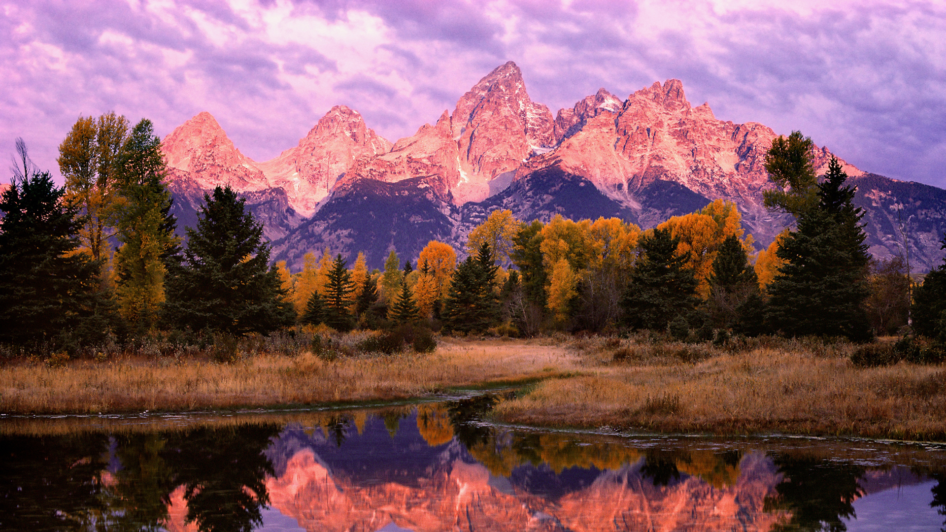 Grand Tetons Background