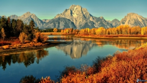 Grand Tetons Hd Wallpaper