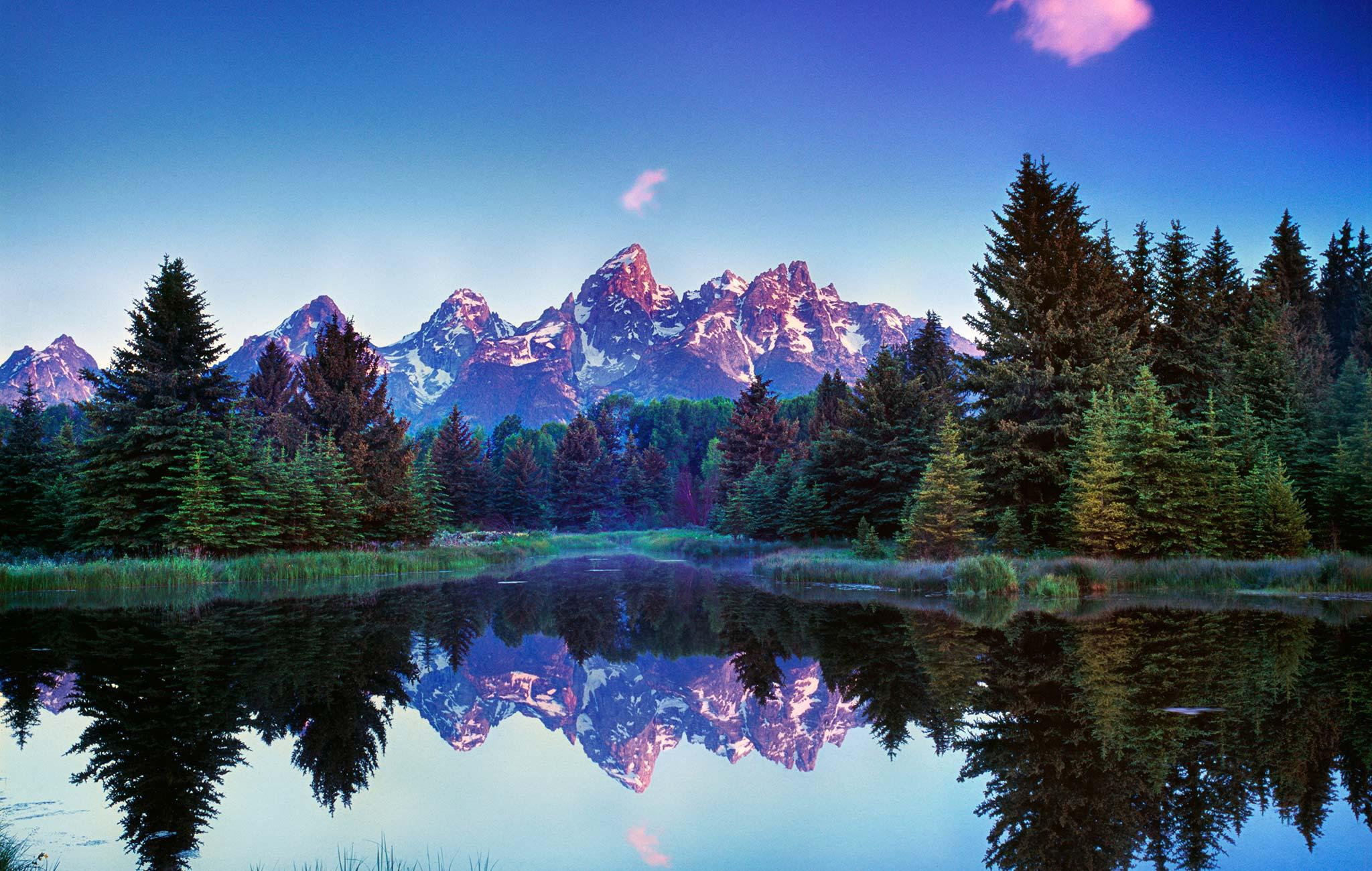 Grand Tetons Wallpaper For Computer
