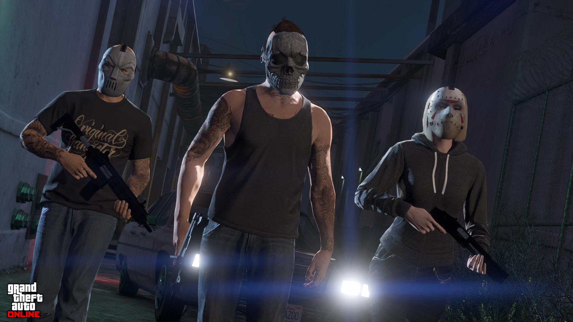 Grand Theft Auto Online Hd