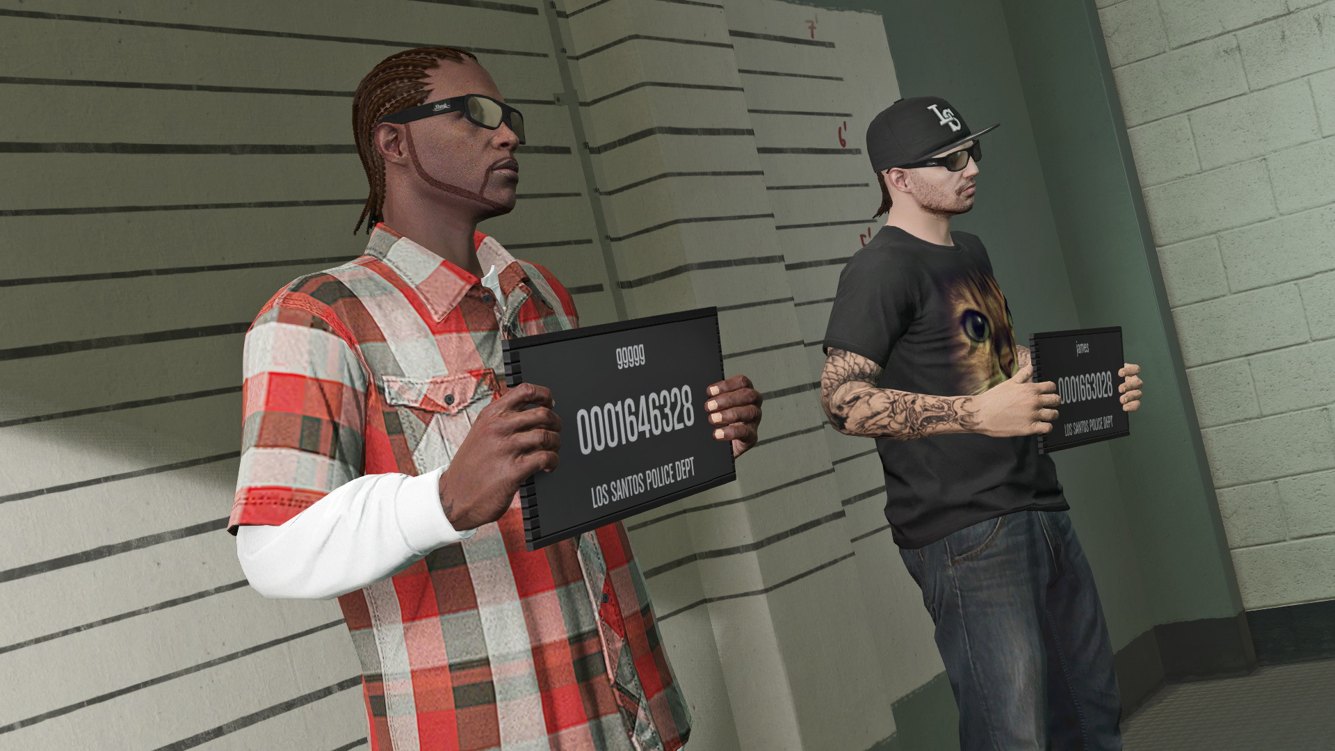 Grand Theft Auto Online Widescreen