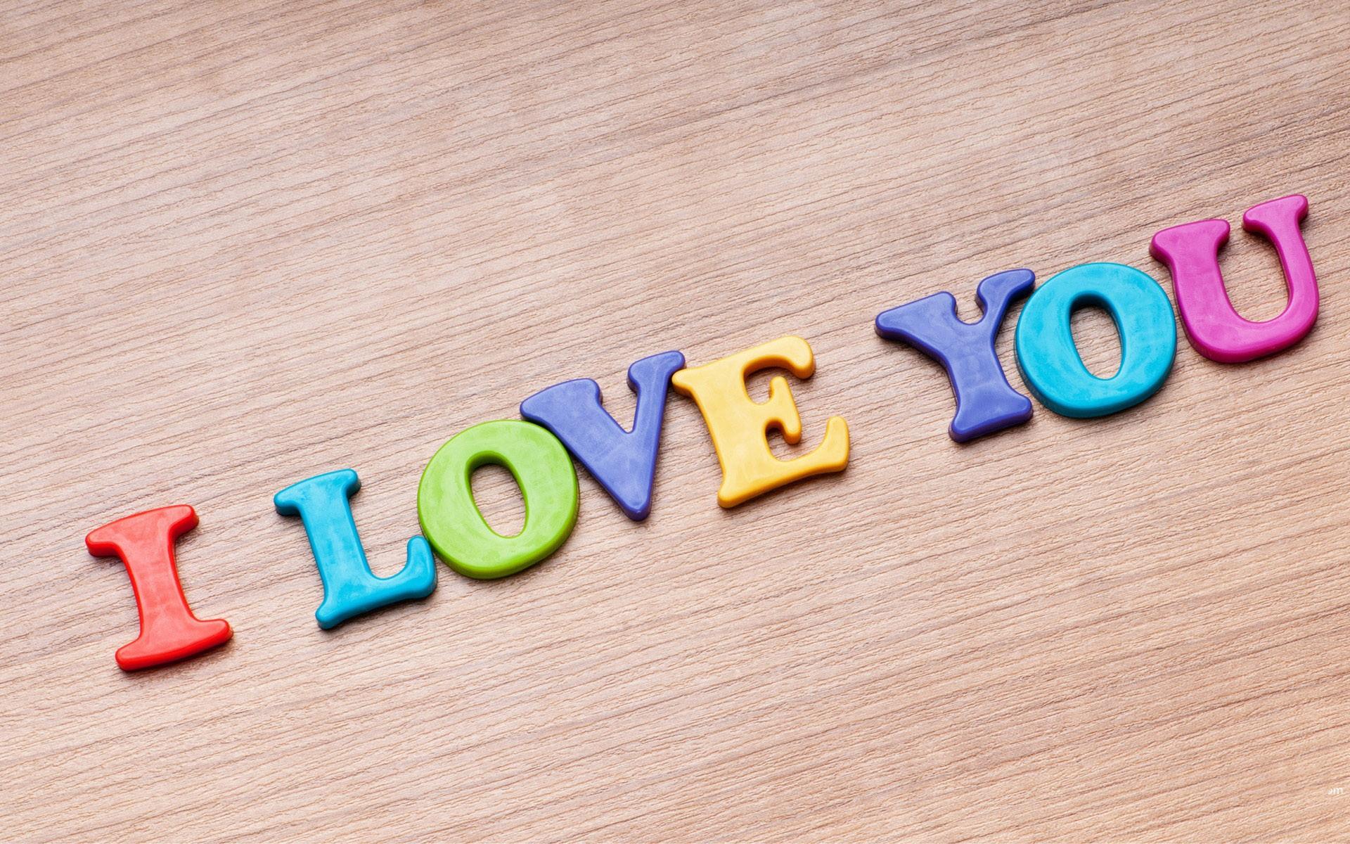 I Love You Hd Wallpaper