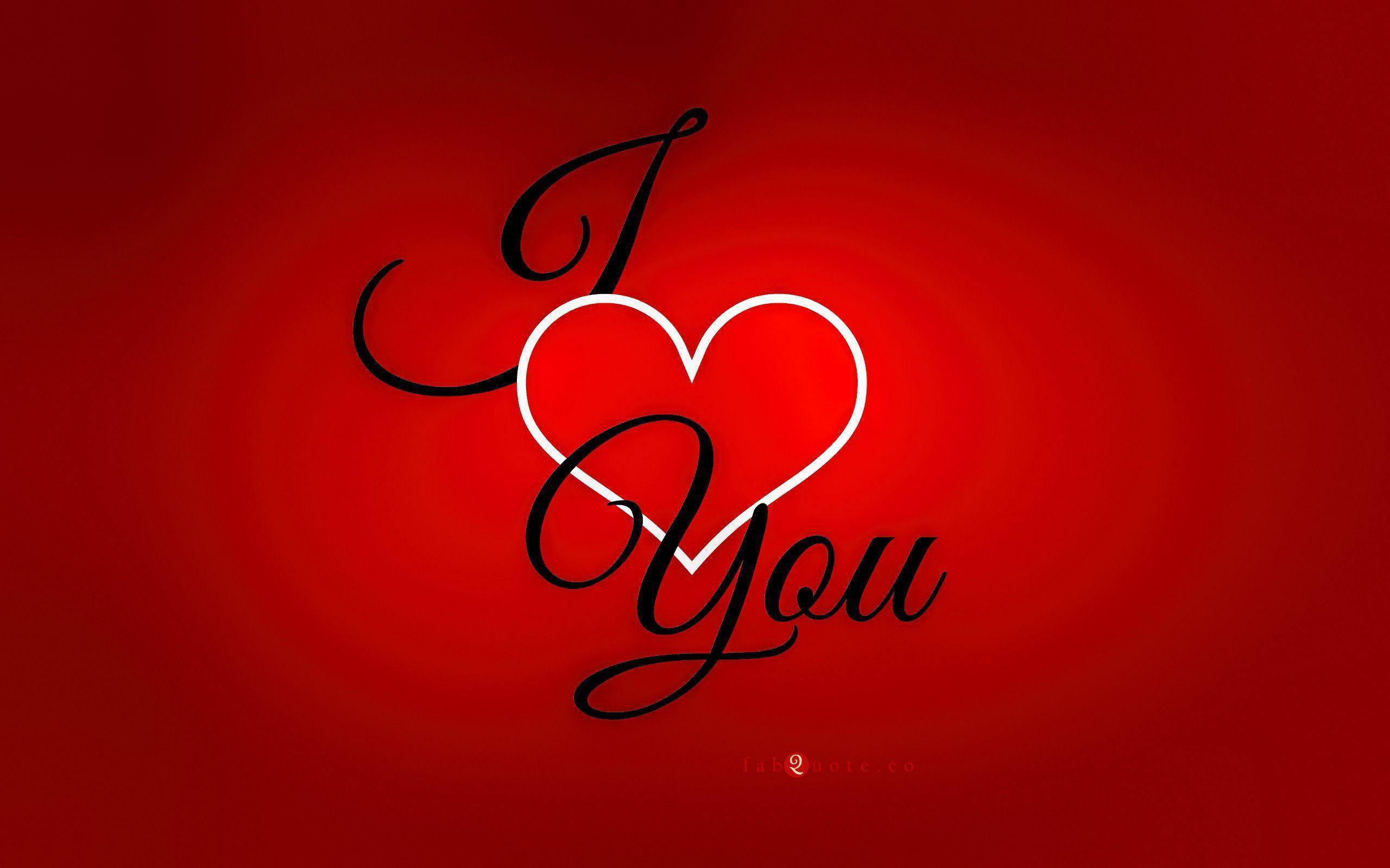 I Love You Widescreen