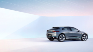 Jaguar I Pace Background