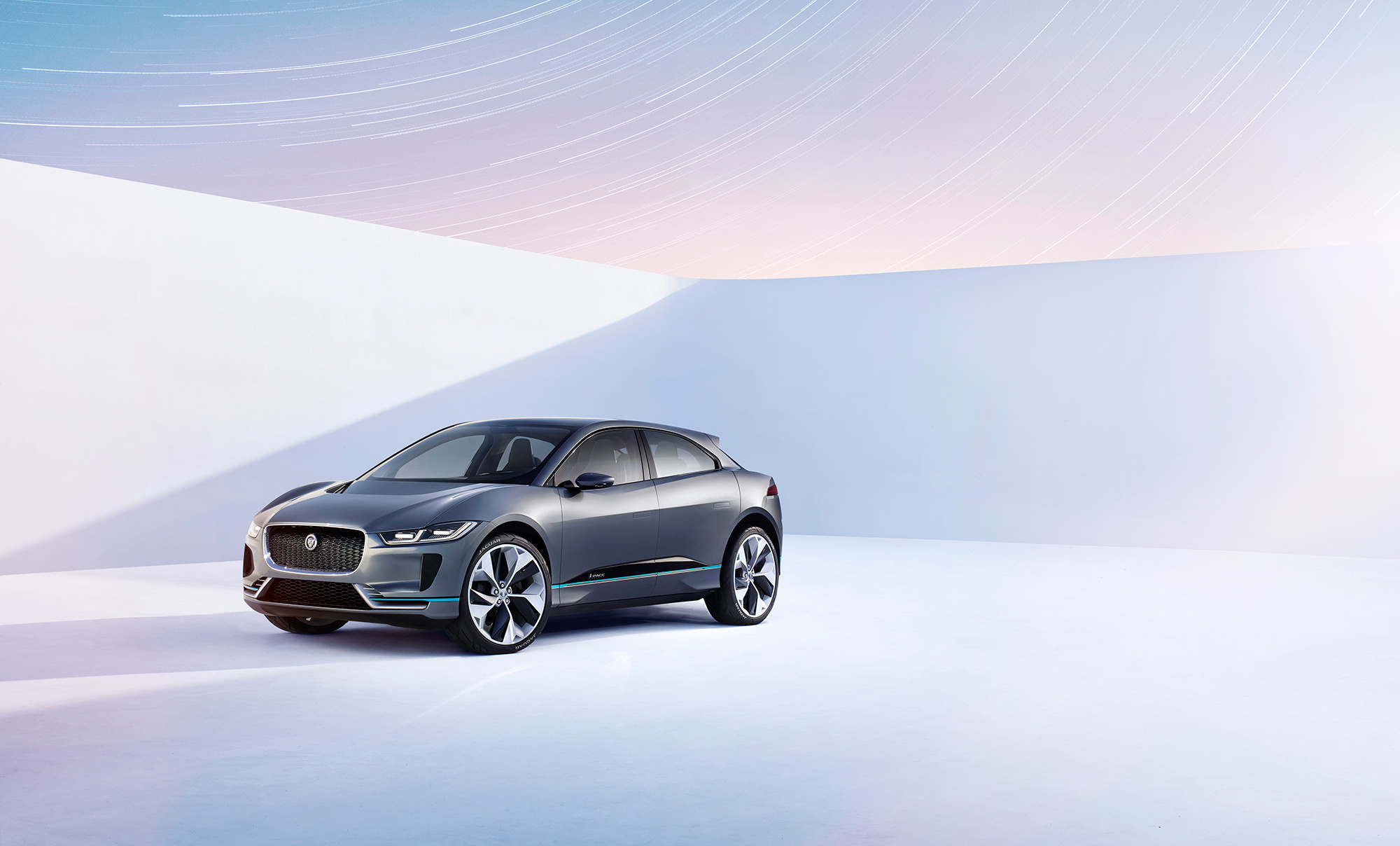 Jaguar I Pace Hd Background