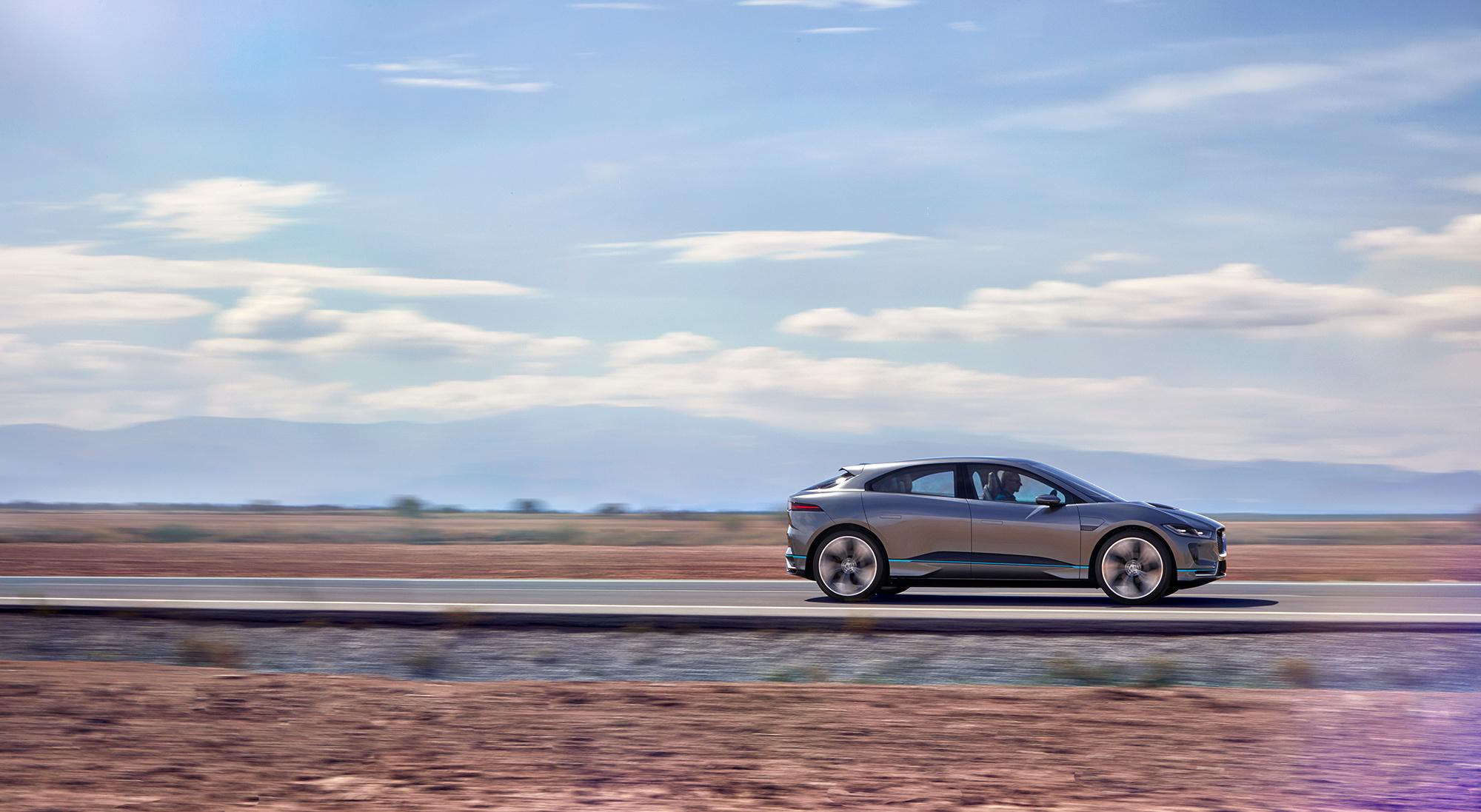 Jaguar I Pace Photos