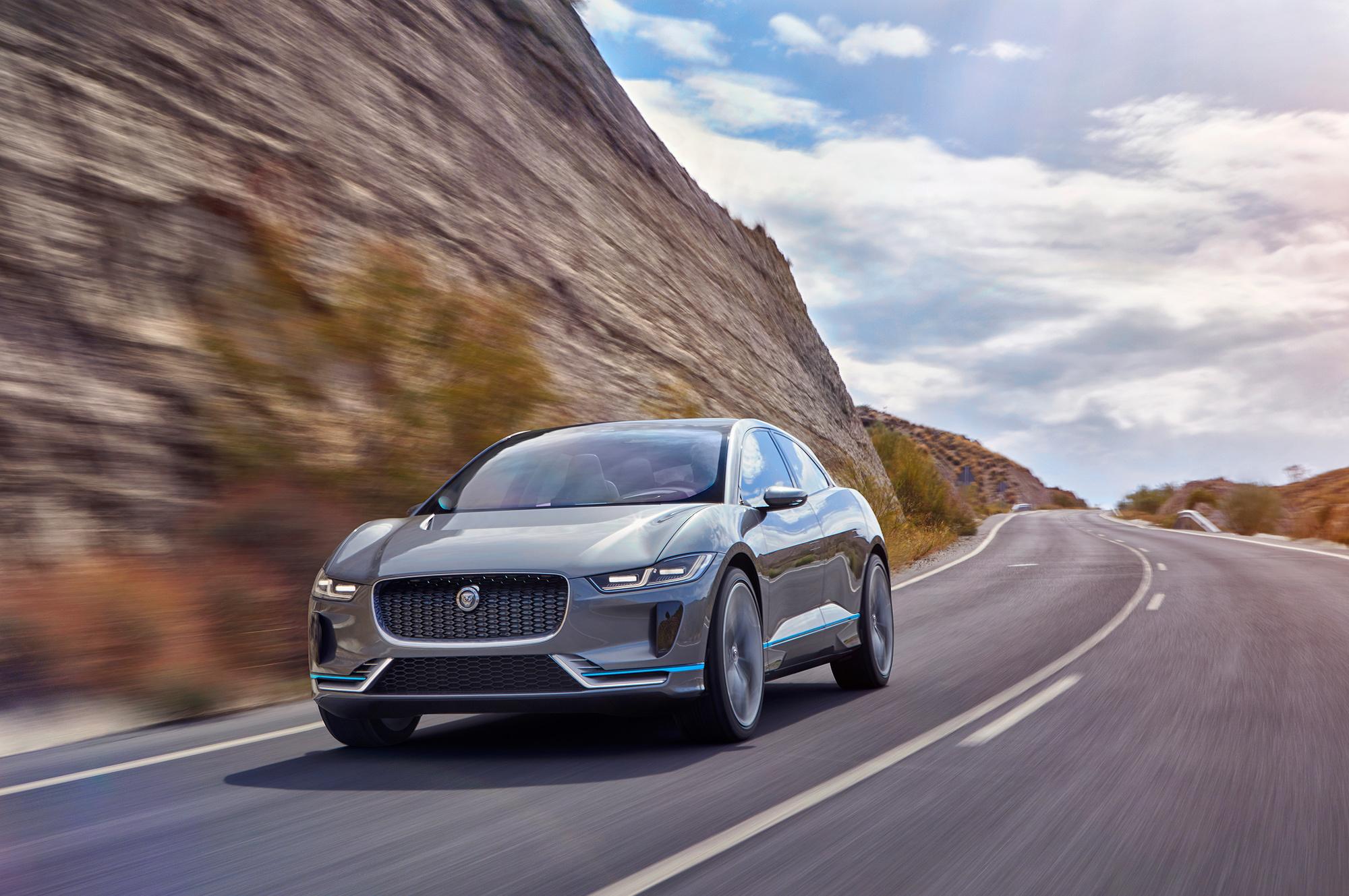 Jaguar I Pace Pictures