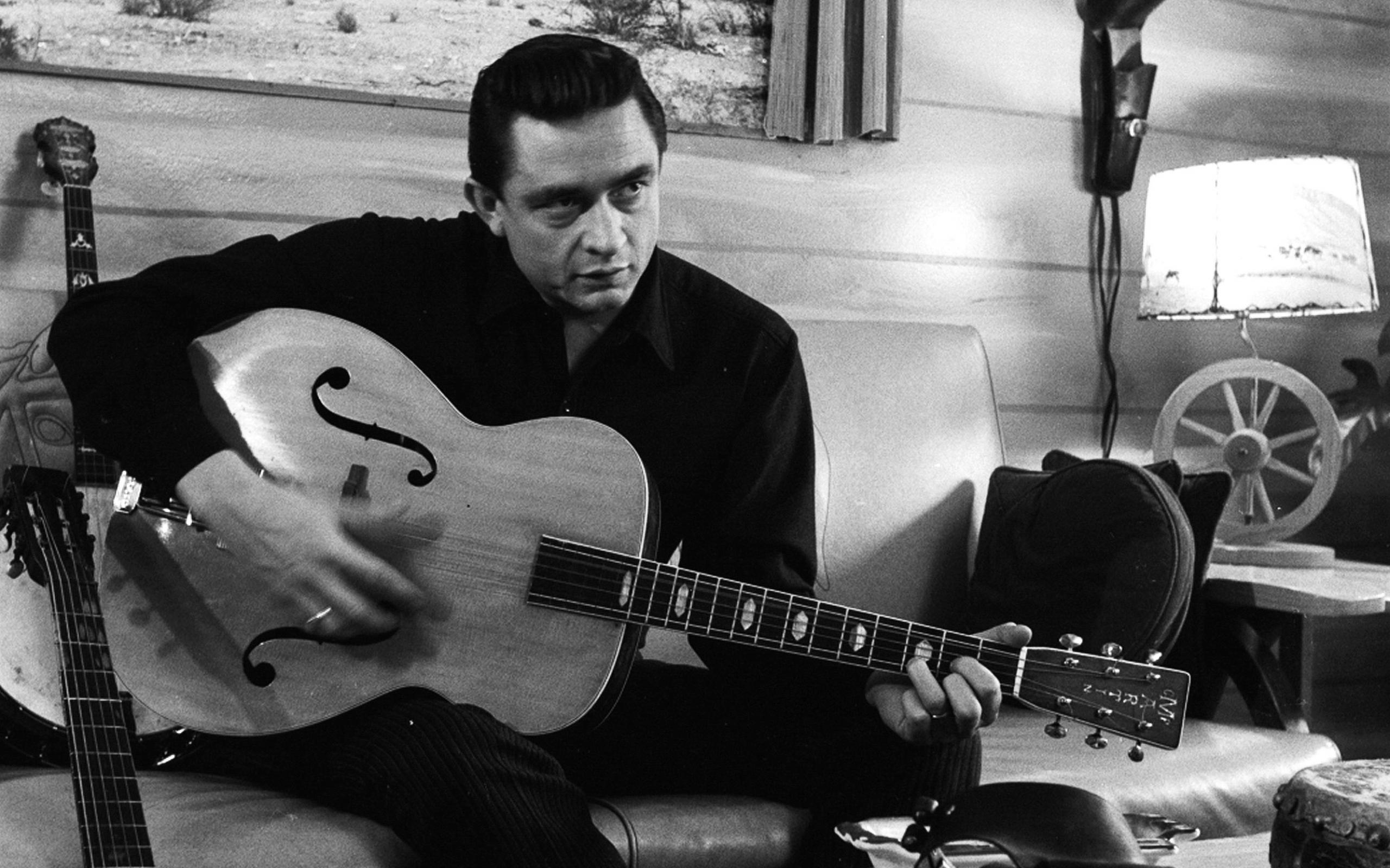 Johnny Cash 4k