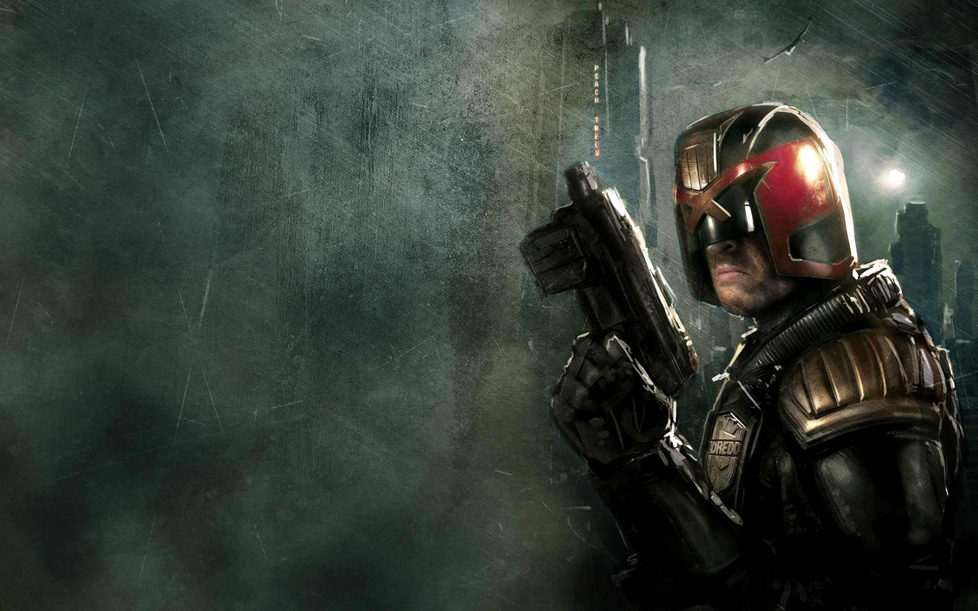 Judge Dredd Wallpaper