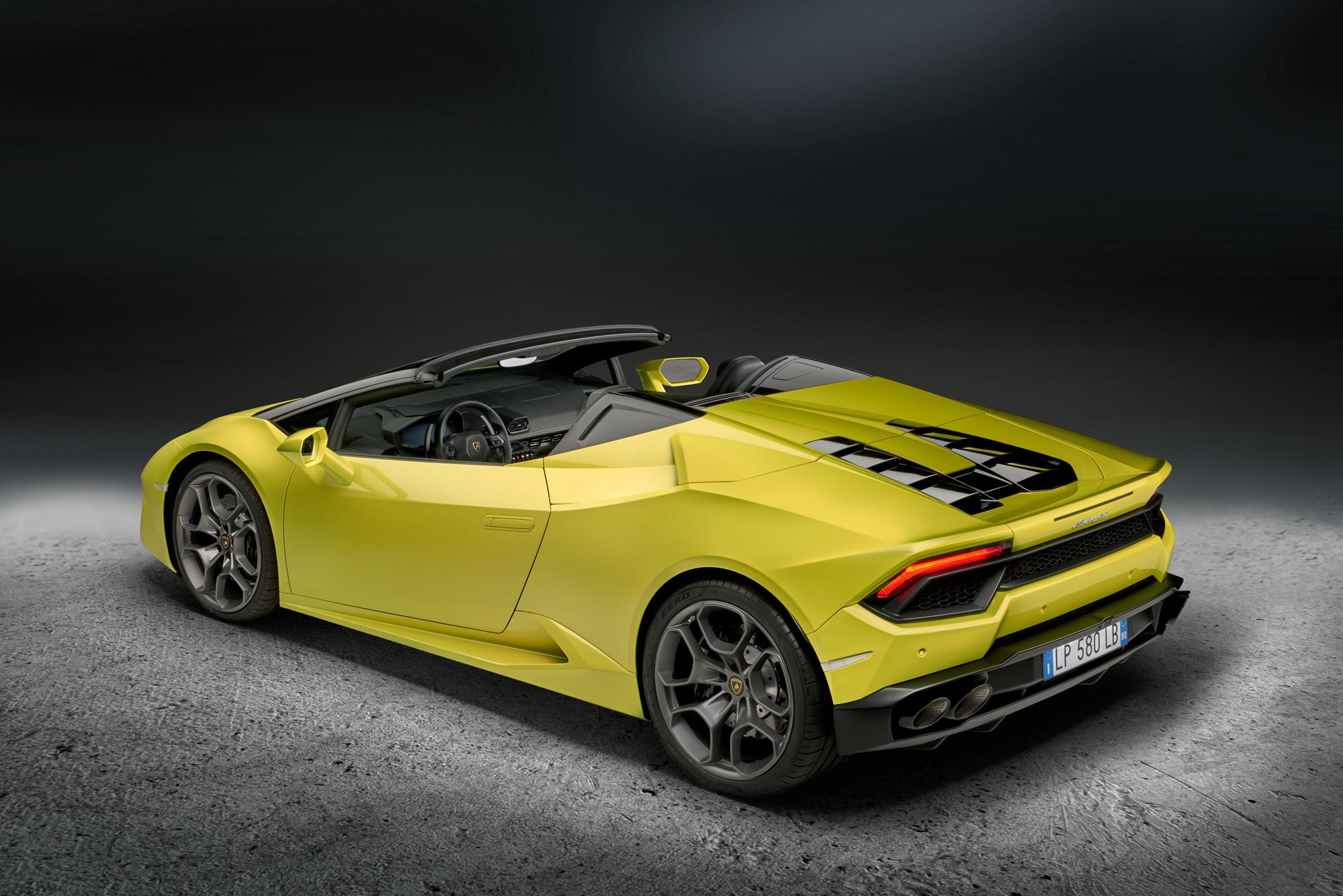 Lamborghini Huracan Rwd Spyder Photos