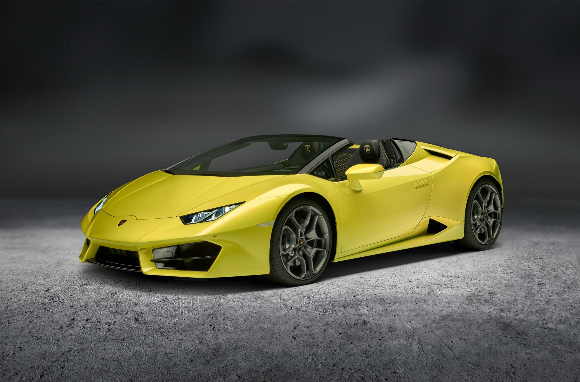 Lamborghini Huracan Rwd Spyder Wallpapers
