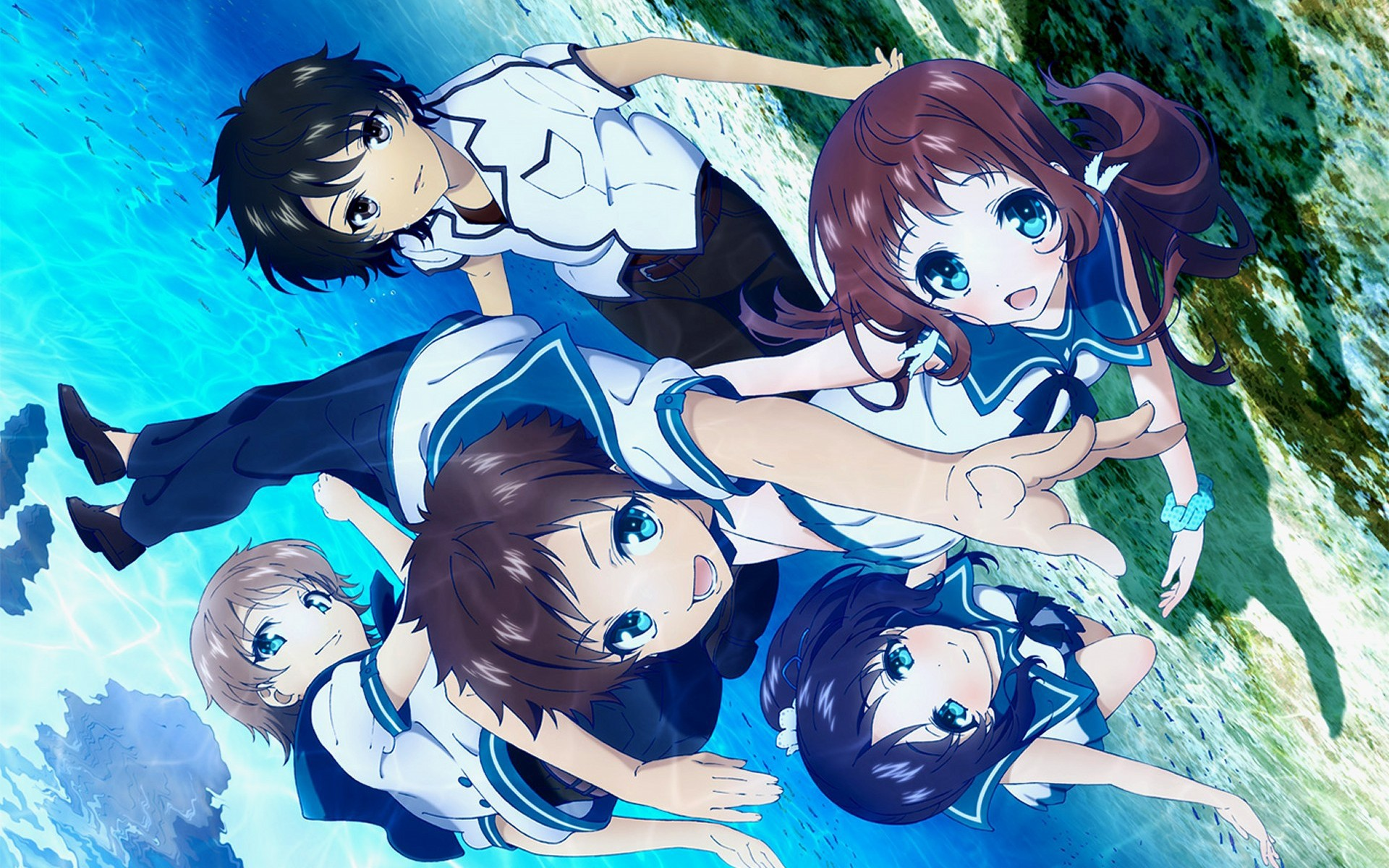 Nagi No Asukara Wallpaper