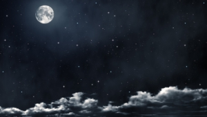 Night Sky Moon Hd Background