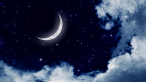 Night Sky Moon High Quality Wallpapers